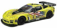 SCX 1/32 Chevrolet Corvette C6R Tutumlu Slot Car A10199 GT Open #6 w/ LIGHTS NEW