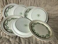 """Brendan, Erin Stone, Wild Shamrock,  7.25"""" Plates (7)"""
