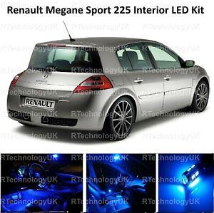 BLUE PREMIUM Renault Sport Megane 225 Bright LED interior Light Kit Full
