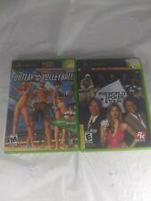 Outlaw Volleyball & World Poker Tour Microsoft Xbox Game Bundle