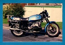 Royal Mail Post-a-Photo Postcard ~ 1980s BMW R65 Light Touring Motorbike