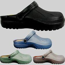 NEW Mens Slip On Lightweight Mules Clogs Shoes Summer SLIPPERS Work GARDEN SIZE