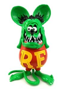 Details about  /Rat Fink Figure 4in Roth Action Figure Collectible PVC Cake Toppers Kids Gift