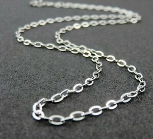 """2.6mm Wide Stainless Steel Mens Womens Belcher Chain - 17 21 25"""" Unisex Necklace"""
