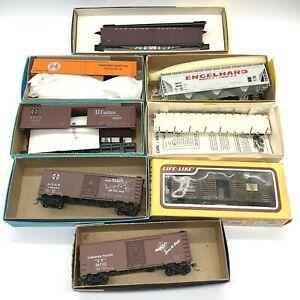 8 Vintage Lot HO Scale Accurate Finishing Athearn Life-Like Roundhouse Walthers