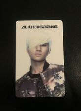 NEW BIG BANG DAESUNG Photo Card Alive Album YG Entertainment K-POP