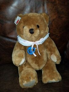 """Dakin Plush Very High Quality Bear Fully Jointed Suade paws/feet  14"""""""