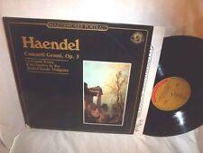JEAN-CLAUDE MALGOIRE/GRANDE ECURIE/CHAMBRE DU ROY-HAENDEL CONCERTI GROSSI OP3 LP