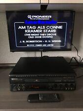 Top Pioneer CLD-1720K Karaoke Laserdisc Player 240 Volt Fernbedienung NTSC LD