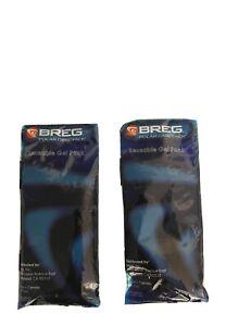 Breg Polar Care Pack Gel Knee Wrap Reusable Lot Of Two