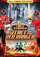 Power Rangers Super Samurai Secret of The Red Ranger Volume 4 R1 DVD