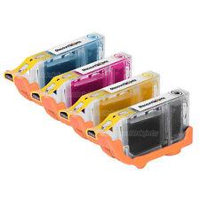 4Pk for Canon CLI-8BK CLI-8C CLI-8M CLI-8Y Ink Cartridge for Canon Pixma iP4200