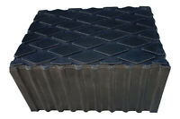 Rubber Load Pad/Rubber Block 80mm Thick For Use With Hoist & Scissor Lifts