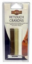 Liberon Kitchen Wax Filler Sticks Retouch Crayons Pack 3 Brown White Beige