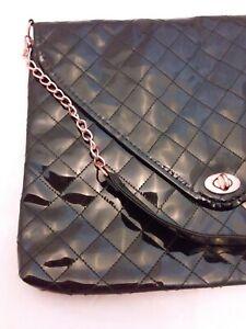 Kim Kardashian Handbag Laptop Office Black Satchel Bag Purse