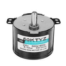 Machifit 50KTYZ 220V Synchronous Motor 10rpm 10W Permanent Magnet Motor