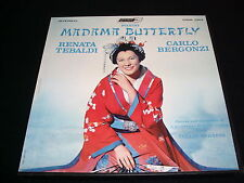 MADAMA BUTTERFLY<>TEBALDI°SERAFIN<>3 LP Vinyl ~Holland Pressing<>LONDON OSA 1314