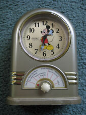 Vintage SEIKO Quartz MICKEY MOUSE Musical Jukebox Alarm Clock Plays Seven Songs