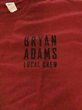 Bryan Adams Local Crew T Shirt Xl