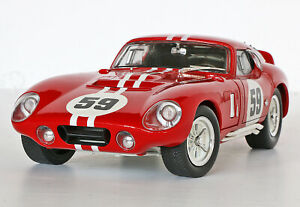 (Rare) Road Signature 65 Red Shelby Cobra #59 Daytona Coupe 1:18 Die Cast-No Box