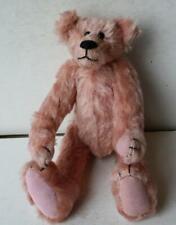 Artist Bear Rainy Day Bears Susan Erickson 1980 Pink Mohair Hump Back Teddy Bear