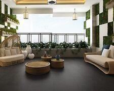 Aquafloor Tile Slate Black Waterproof Flooring (12 Pack) IPSL