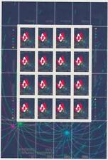 Canada 1990 Pane #1278 - The CANADIAN FLAG (1965-1990) - MNH - Cat. value $16.00