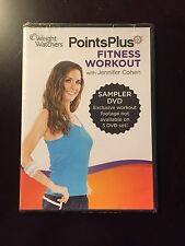 weight watchers points plus fitness workout sampler dvd 3 workouts