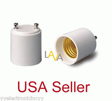 Lot of 12pcs GU24 to E27/E26 Standard Light Bulb Lamp Holder Adapter Socket