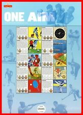 2010 One Aim London 2012 Commemorative Sheet. Pack No CS10.