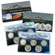 2012 National Parks State Quarters Uncirculated Set - Philadelphia & Denver