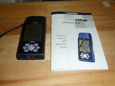 Garmin eMap Handheld GPS Geocaching Fishing Hunting Hiking Camping 12 Channels
