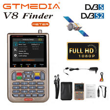 "V8 Satellite Finder DVB-S2/S2X 3.5"" LCD Digital TV Signal Sat Finder Search Tool"