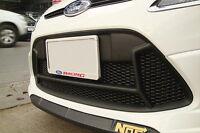 FORD FIESTA MK 7 RS STYLE GRILL ABS MATT BLACK FINISH  2008 -2012