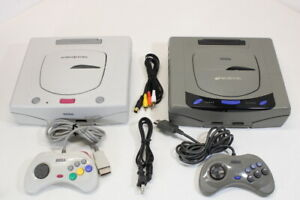 Official SEGA Saturn Console Bundle Japan Import US Seller WORKING