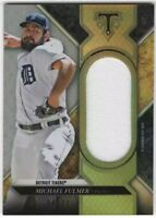 2017 Topps Triple Threads Silver MICHAEL FULMER Single Jersey Relic 4/27