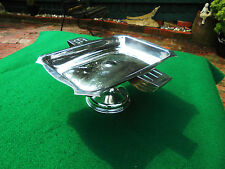ART DECO AUSTRALIAN SILVER PLATE TABLE CENTRE PIECE CAKE STAND c1930 DUNKLINGS