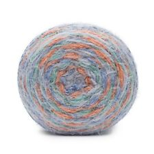 Blue Medley Sparkly Soft Eyelash Blend Yarn 50 Gram SWTC Diva #540 Ocean
