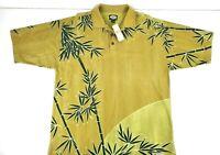 Tommy Bahama Boarwalk Bamboo Eclipse Mens Short Sleeve Polo Shirt NEW