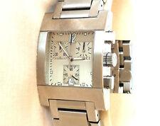 Gucci 7700 Chrono Edelstahl Herren Uhr Chronograph+ Box + Papieren, Gents Chrono