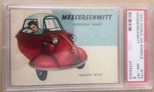 1955 World On Wheels Messerschmitt #174 PSA 8 NM-MT Red Back