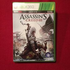 Microsoft XBox 360 Video Game Assassin's Creed III Rated M