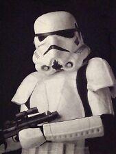 Star Wars Rebels Clone Trooper Movie Sci-Fi Soft Distressed Black T Shirt M
