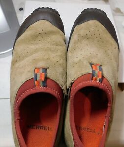 Merrell Improv Tumbleweed Daim Marron à Enfiler Randonnée Chaussures Femme US Sz