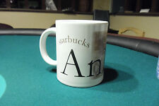 STARBUCKS Ceramic Collectors Series City Mug Ankara Turkey 18oz MINT Condition