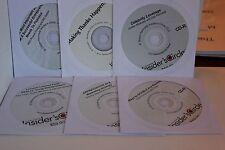 Bill Glazer Dan Kennedy Insider's Circle Set 6 CD Marketing Double any Business+