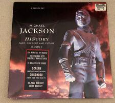 Michael Jackson History Vinyl (Past,Present, Future) 3 LP Set.  Super RARE