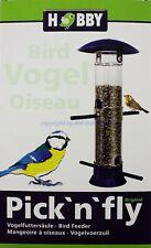 Pick `N` Fly Blue Bird Feeder Hobby Feeding Station for Birds