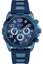 GUESS W0599G4,Men's Chronograph,NEW WITH TAG AND GUESS BOX,SCREW CROWN,100m WR