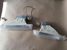 89-90 Acura Legend Oem Bumper Turn Signals Marker Lights Set